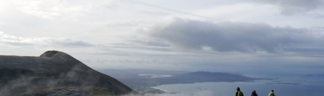 Mweelrea, comté de Mayo, irlande