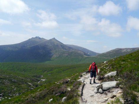 Mourne montagne irlande