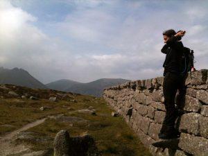 mourne, montagne, irlande