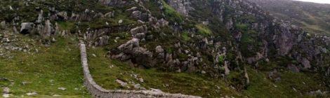 montagne de mourne irlande