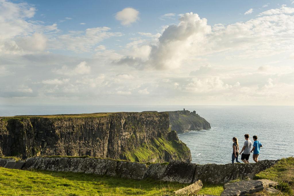 Falaises de Moher Clare Irlande