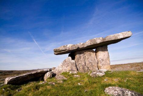 Dolmen Poulnabrone Burren irlande