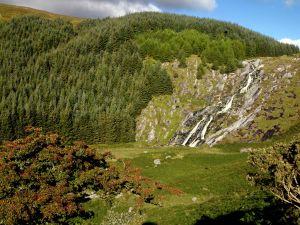 Chutes de Glenmacnass Wicklow Irlande