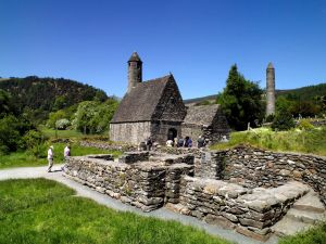 Eglise Saint Kevin Glendalough Wicklow
