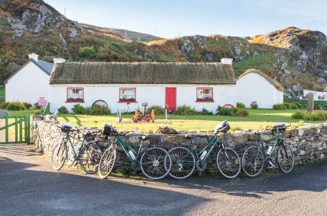 Village de Glencolmcille, Donegal