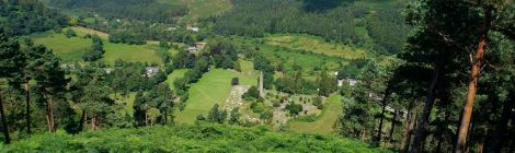 Glendalough et montagnes de Wicklow