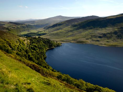 Lough Bray, Wicklow Irlande