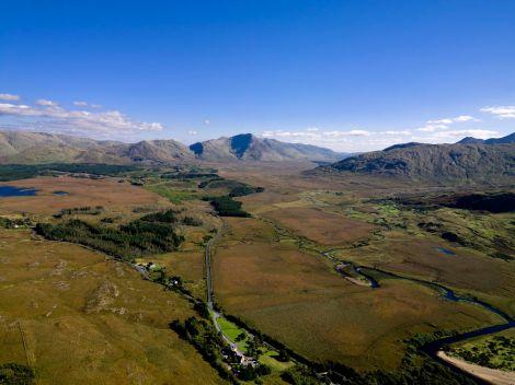 Montagnes de Maamturk, Connemara