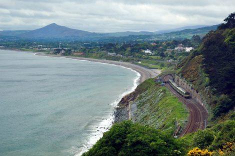 Sentier du littoral, sud de Dublin