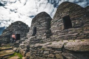 Huttes de Skellig Michael, Kerry © storytravelers