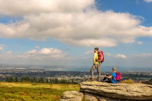 Three Rocks, montagnes de Dublin