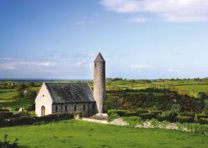 Eglise de Saul, co Down, Irlande du Nord